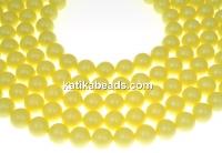 Swarovski pearl, pastel yellow, 5mm - x100