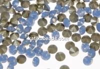 Swarovski, chaton pp21, air blue opal, 2.8mm - x20