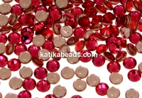 Swarovski, hotfix, ss12, indian pink, 3mm - x20