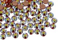 Swarovski, hotfix, ss12, topaz aurore boreale, 3mm - x20