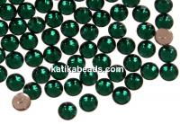 Swarovski, hotfix, ss10, emerald, 2.7mm - x20