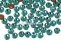 Swarovski, hotfix, ss10, light turquoise, 2.7mm - x20