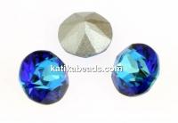Swarovski, chaton PP7, bermuda blue, 1.35mm - x20