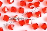 Swarovski, bicone bead, hyacinth, 3mm - x20