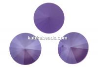 Swarovski, rivoli, lilac, 12mm - x2