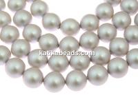 Swarovski pearl, iridescent dove grey, 4mm - x100