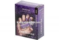 Swarovski Crystal Pixie Edge for nails,  BLOSSOM PURPLE - 1 box