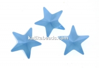 Swarovski, fancy star, summer blue, 10mm - x1