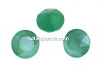 Swarovski, chaton SS29, mint green, 6mm - x4