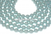 Swarovski pearl, pastel blue, 2mm - x100
