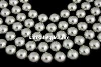 Swarovski pearl, grey, 3mm - x100