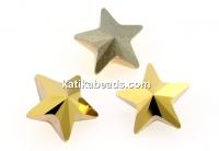 Swarovski, fancy star, aurum, 10mm - x1