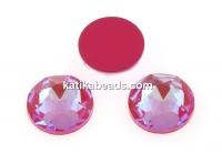 Swarovski, cabochon, Lotus pink DeLite, 6mm - x4