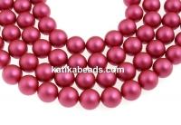 Swarovski pearl, mulberry pink, 5mm - x100