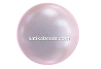 Swarovski pearl, iridescent dreamy rose, 4mm - x100