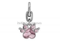 Swarovski, Polly Paw keychain, light rose, 19mm - x1