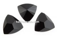 Swarovski, kaleidoscope triangle fancy rivoli, jet, 6mm - x2