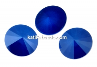 Swarovski, rivoli, royal blue, 6mm - x2