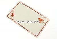 Carton martisor, scufita rosie, 9x5.5cm- x50