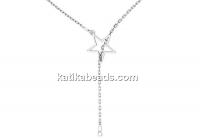 Chain, 925 silver, 45cm - x1