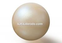Preciosa pearl, pearlescent yellow, 10mm - x20
