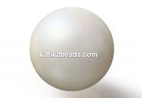 Preciosa pearl, pearlescent cream, 8mm - x50