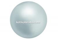 Preciosa pearl, light grey, 8mm - x50