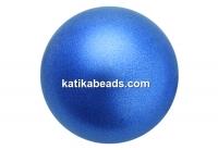 Preciosa pearl, blue, 6mm - x100