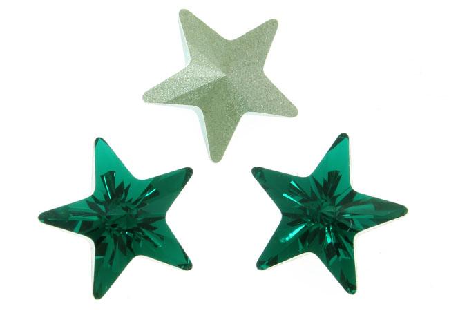 Green stars...