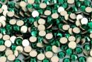Swarovski, rhinestone ss10, emerald, 2.6mm - x20