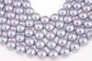 Swarovski pearl, lavender, 8mm - x50