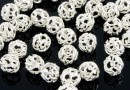 Decorative beads, 925 silver, 4mm - x10
