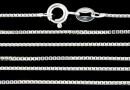 Box Chain, 925 silver, 45cm - x1