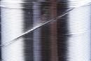 Wire, 925 silver, medium hardness, 0.5mm - x1m