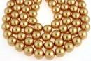 Swarovski pearl, bright gold pearl, 4mm - x100
