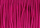 Circular elastic cord, fuchsia, 1.4mm - x 13m