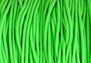 Elastic cord circular, green neon, 1.4mm - x 13m