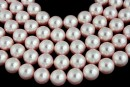 Swarovski pearls, rosaline, 14mm - x2