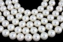 Swarovski pearls, white, 14mm - x2