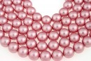 Swarovski pearls, powder rose, 14mm - x2