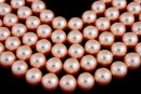 Swarovski pearls, peach, 14mm - x2