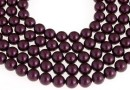 Swarovski pearls, blackberry, 14mm - x2
