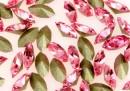 Swarovski navette, fancy chaton, light rose, 10mm - x4
