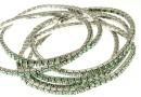 1088 Swarovski Chrysolite bracelet, rhodium plated, 18cm - x1
