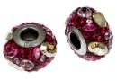 Swarovski, becharmed pavé, pink - x1
