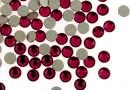 Swarovski rhinestone ss6, ruby, 1.8mm - x20