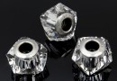 Swarovski, becharmed helix, crystal, 14mm - x1