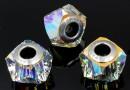Swarovski, becharmed helix, aurora borealis, 14mm - x1