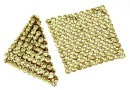 Swarovski, crystal mesh, jonquil, 3.2x3.2cm - x1