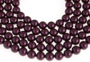 Swarovski pearls, blackberry, 16mm - x1